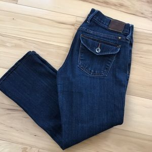 Lucky Brand Sweet and Crop Jeans.  EUC